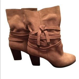 Sz 10 Saks Fifth Ave Slouchy boots